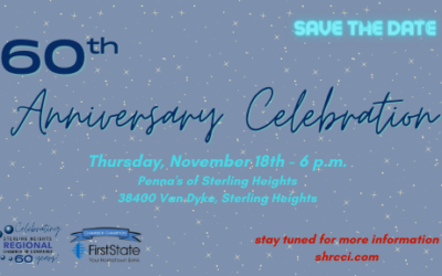 60th Anniversary Celebration – Save the Date