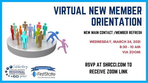 Virtual Member Orientation / Refresh
